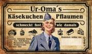 Omas Wehrmacht Helferinnen Pflaumenkäsekuchen
