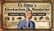 Omas Wehrmacht Helferinnen Mandarinenkäsekuchen