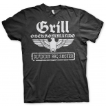 Grill Oberkommando - T-Shirt schwarz