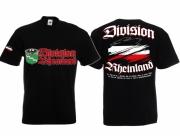 Rheinland - Meine Heimat T-Shirt schwarz