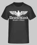 Deutschland Reichsadler - Kämpfen & Siegen - T-Shirt