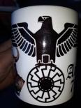 Schwarze Sonne Reichsadler Wikinger - Tasse