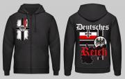 Deutsches Reich - Kapuzenjacke