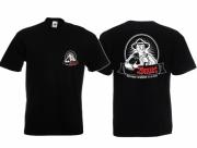 Bauer und Landwirt - Tierschutz verpflichtet seit 1933 - T-Shirt schwarz