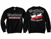 Westfalen - Meine Heimat Reichsadler - Pullover schwarz