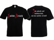 Arisch - T-Shirt schwarz