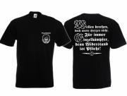 Einzelkämpfer für Deutschland - T-Shirt schwarz