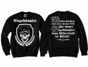 Einzelkämpfer für Deutschland - Pullover schwarz