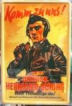 Division Hermann Göring - Blechschild