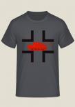 Tiger Panzer Balkenkreuz - T-Shirt