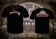 Auch ohne Sonne braun - Sonnenstudio 88 - T-Shirt schwarz
