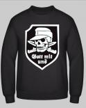 Gott mit uns Totenkopf - Pullover