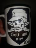 Gott mit uns Totenkopf - 4 Tassen