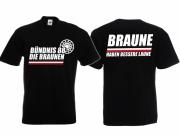Die Braunen - T-Shirt schwarz