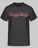 Erzgebirge Schwarz/Weiss/Rot - T-Shirt