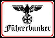 Führerbunker - Blechschild