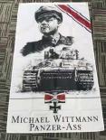 Tiger Panzer Michael Wittmann - Fahne