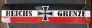 Reichsgrenze - Blechschild
