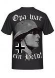 Opa war ein Held ! - T-Shirt