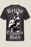 Reichstrunkenbold 2.0 - T-Shirt Rückendruck