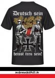 Deutsch sein heisst treu sein! Rückendruck T-Shirt II