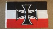 Reichskriegsflagge 1933-1935 Gösch - Fahne/Flagge 250x150cm