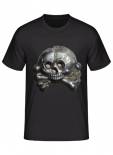 Totenkopf der Panzerwaffe - T-Shirt