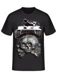 Tiger Panzer Totenkopf - T-Shirt