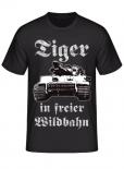 Tiger in freier Wildbahn - T-Shirt