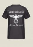 Deutschland, meine Heimat - Reichsadler - Rückendruck T-Shirt