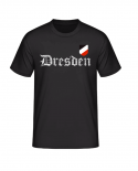 Dresden (Wunschtext möglich) WH Emblem - T-Shirt