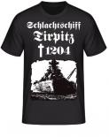 Schlachtschiff Tirpitz 1204 T-Shirt