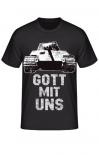 Königstiger - GOTT MIT UNS - T-Shirt