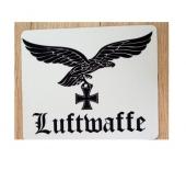 Luftwaffe Adler+Eisernes Kreuz+Aufschrift Luftwaffe - Mauspad