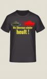 Tiger: Bis Sherman wieder heult ! - T-Shirt