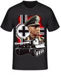 Erwin Rommels Tiger Panzer in Afrika - T-Shirt