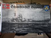 Schlachtschiff Bismarck - Flagge/Fahne 150x90cm