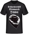 Schlachtschiff Bismarck 2104 T-Shirt