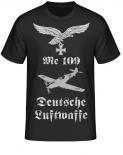 Me 109 Deutsche Luftwaffe Adler T-Shirt
