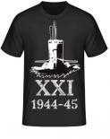 Deutsche U-Boote Typ XXI 1944-45 T-Shirt