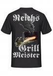 Reichsgrillmeister T-Shirt Rückenmotiv