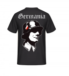 Germania WH SOLDAT- T-Shirt Rückendruck