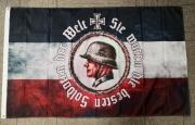 Sie waren die besten Soldaten der Welt - Fahne