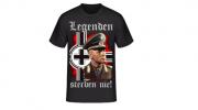 Erwin Rommel - Legenden sterben nie! - T-Shirt