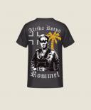 Afrika Korps Erwin Rommel - T-Shirt Rückenmotiv