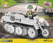 Cobi 2168 Sdkfz.2 Kettenkrad Spielzeug Bausatz(nur noch wenige da)