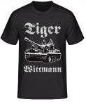 Tiger Panzer Wittmann - Kunstdruck - T-Shirt