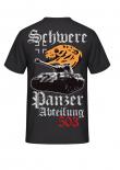 Schwere Panzerabteilung 503 - T-Shirt Rückenmotiv