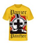 Panther Panzer Balkenkreuz - T-Shirt