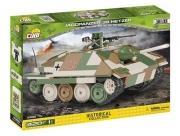 Jagdpanzer 38 Hetzer, Grün, Braun, Beige - Bausatz